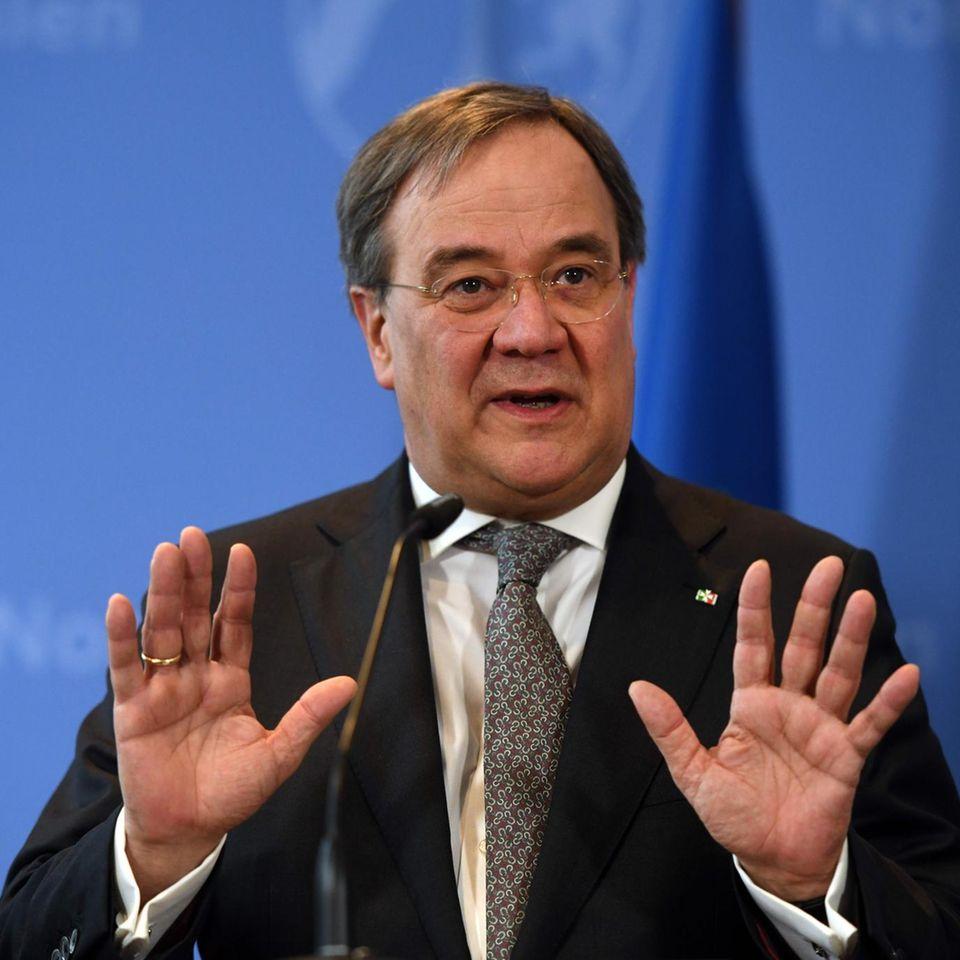 Corona aktuell: NRW-Ministerpräsident Armin Laschet