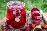 Rote Bete einkochen: Eingekochte Rote Bete