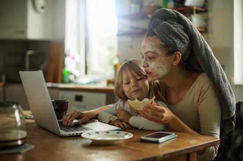 Homeoffice mit Kind: Der Liveticker