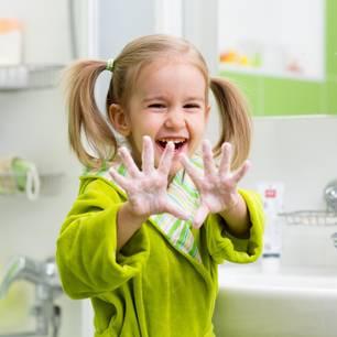 Richtig Händewaschen: So vergessen es Kinder nie wieder