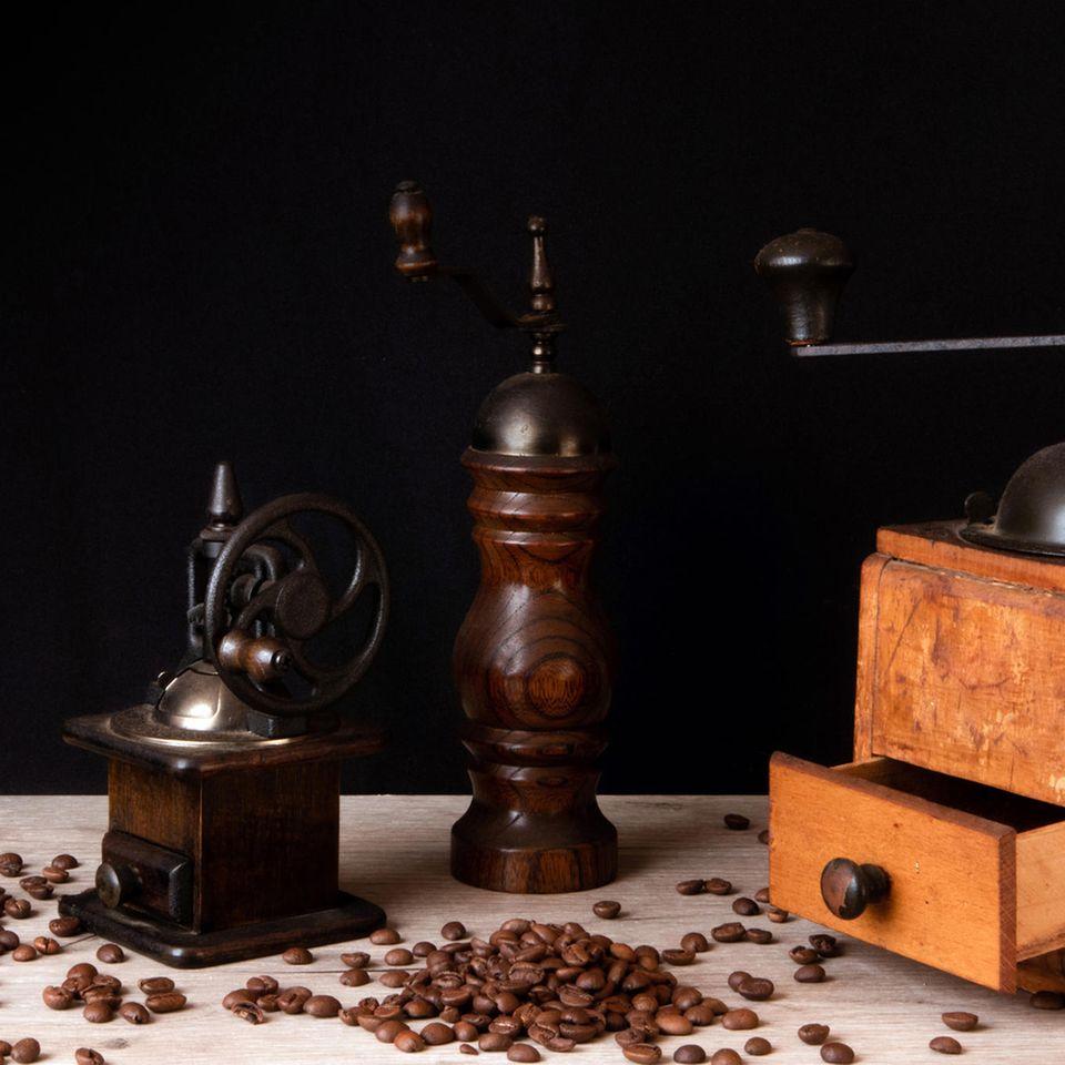 Wer zuerst kommt, mahlt zuerst: Verschiedene Mühlen für die Küche