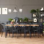Esszimmer: Essplatz im Wohnzimmer
