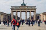 Sehenswürdigkeiten unter Coronakrise: Brandenburger Tor