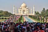 Sehenswürdigkeiten unter Coronakrise: Taj Mahal