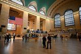 Sehenswürdigkeiten unter Coronakrise: Grand Central Station