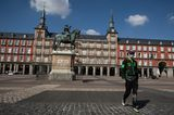 Sehenswürdigkeiten unter Coronakrise: Plaza Mayor