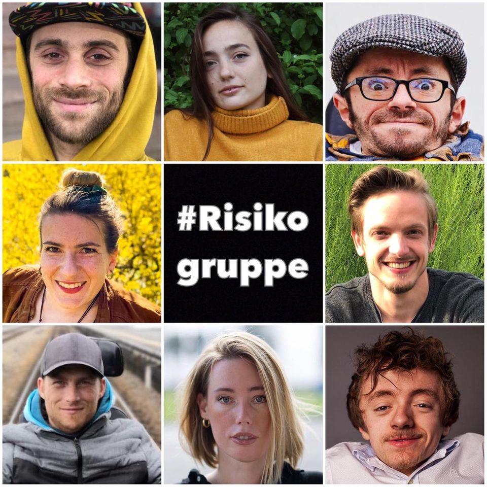 """#Risikogruppe: """"Hi, wir sind's. Wir haben keinen Bock, zu sterben"""""""