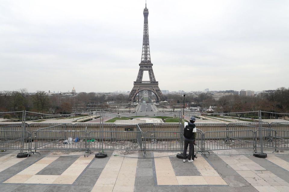 Sehenswürdigkeiten unter der Coronakrise: Eiffelturm