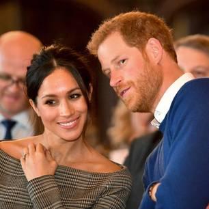 Harry + Meghan unterstützen die Queen - und dieses Detail fällt auf!