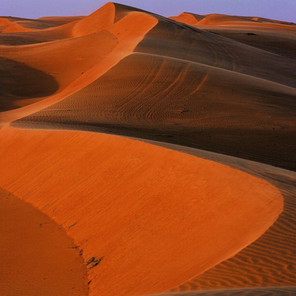 Reisetipps Oman: Wüste