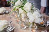 Blumendeko Hochzeit: Pfingstrosen
