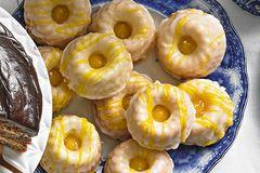 Mini-Zitronen-Gugelhupfe