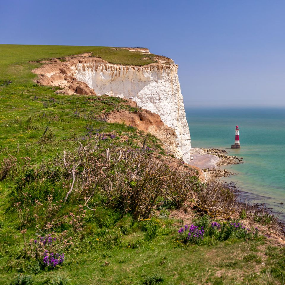 Frühlingsreisen 2020: Beachy-Head-Klippe in East Sussex