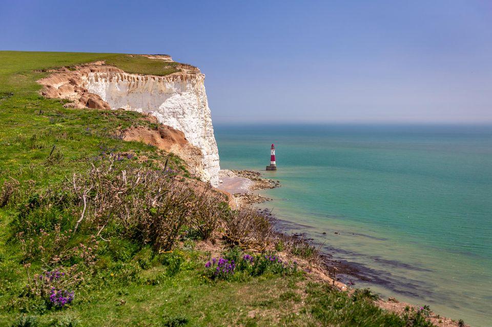 Frühlingsreisen 2020: Beachy-Head-Klippe in East Sussex