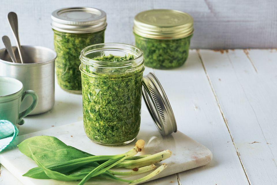 Pesto-Rezepte: Bärlauch-Pesto