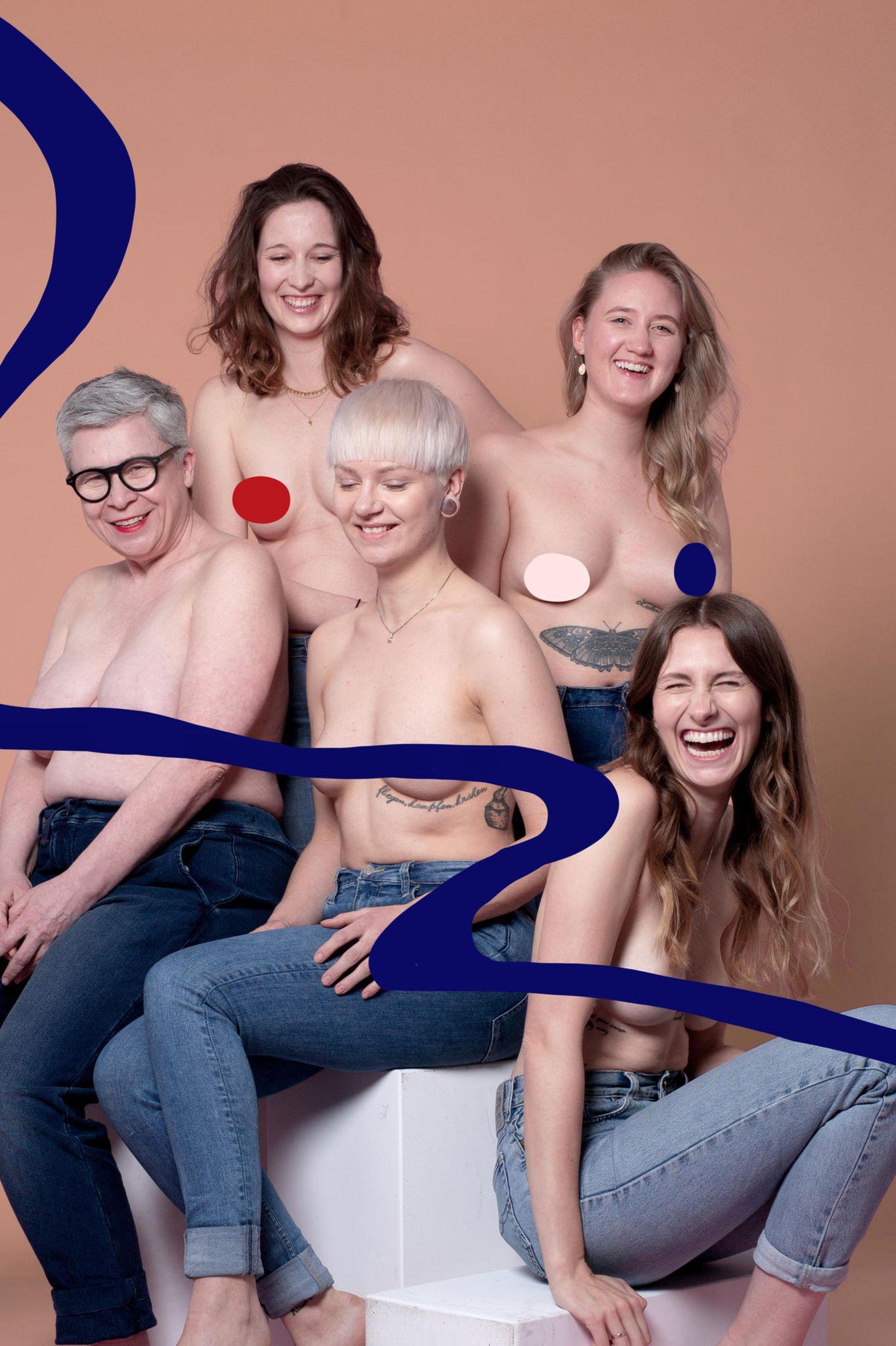 nippel posieren nackt