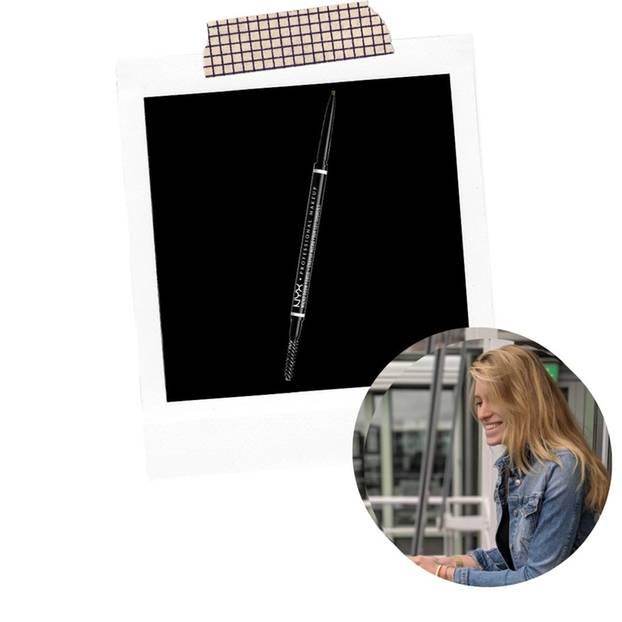 Volontärin Célin hat den NYX Micro Brow Pencil mal wieder rausgeholt.