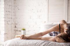 Sex: Paar im Bett