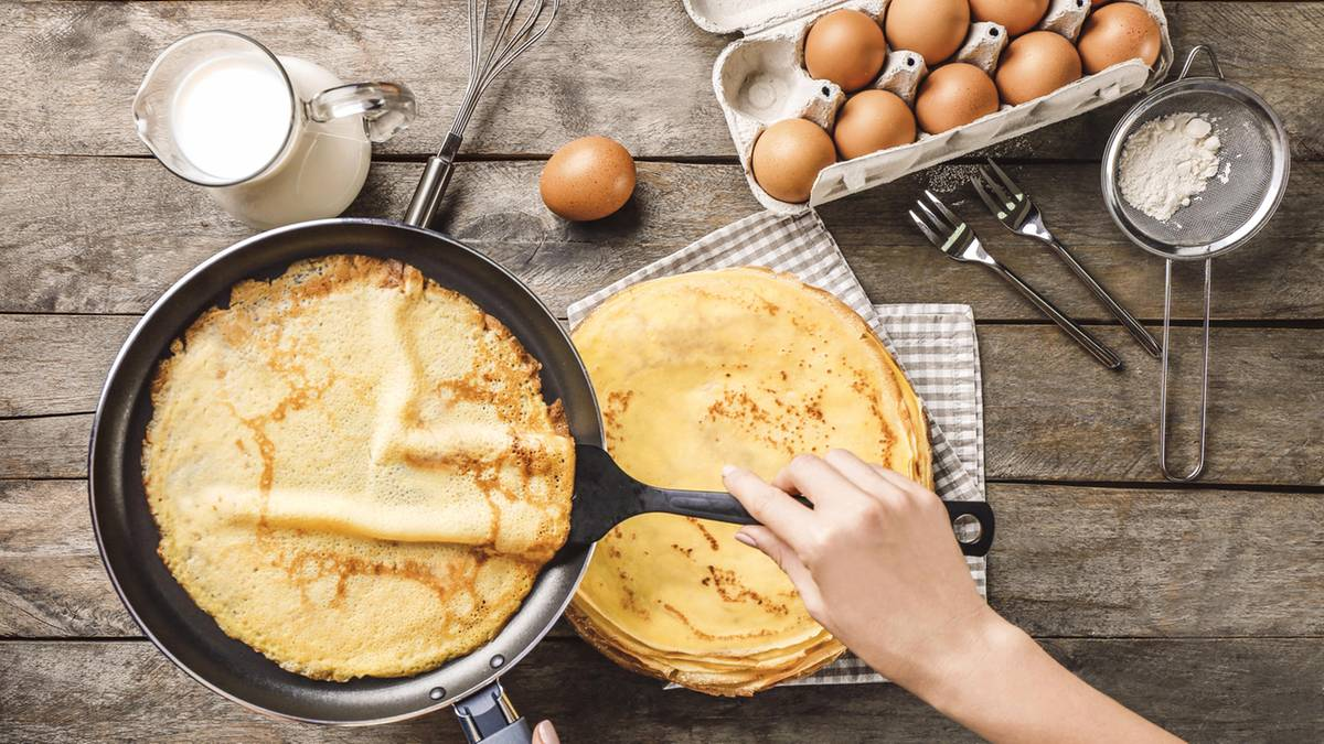 Pfannkuchen ohne Mehl