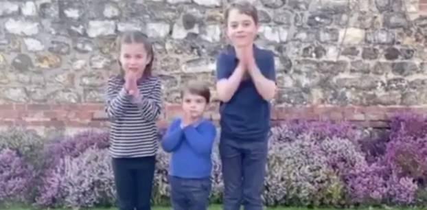 Neue Aufnahmen von Prinz Louis: Die Royal Kids bedanken sich bei den Einsatzkräften