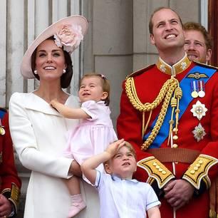 Royal-News über Kate + William: Neuer Auftritt ihrer Kinder