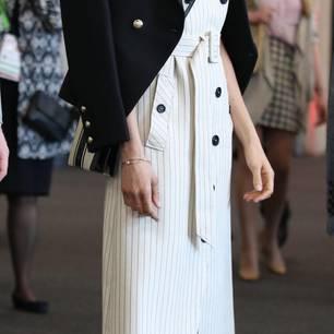 Meghan Markle: trägt Ringe und Armbänder