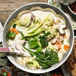 Wasabi-Gemüseeintopf