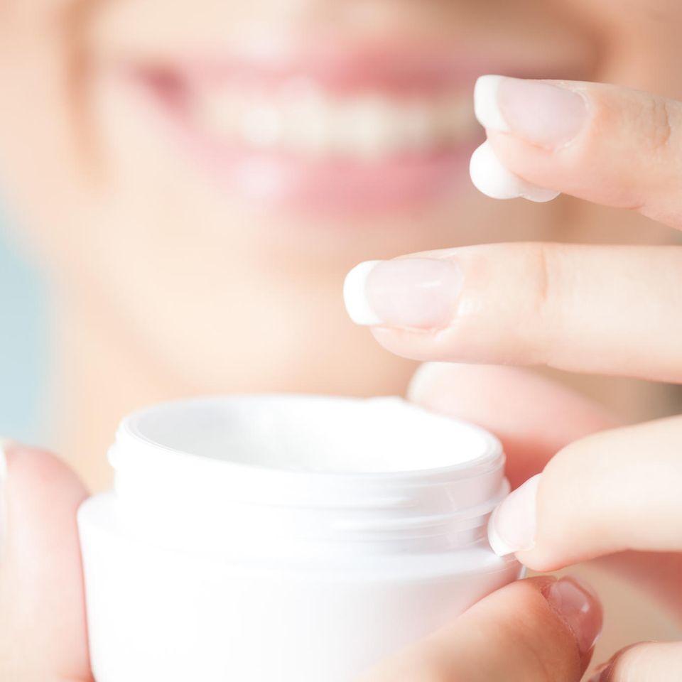 Beautyroutine hygienisch