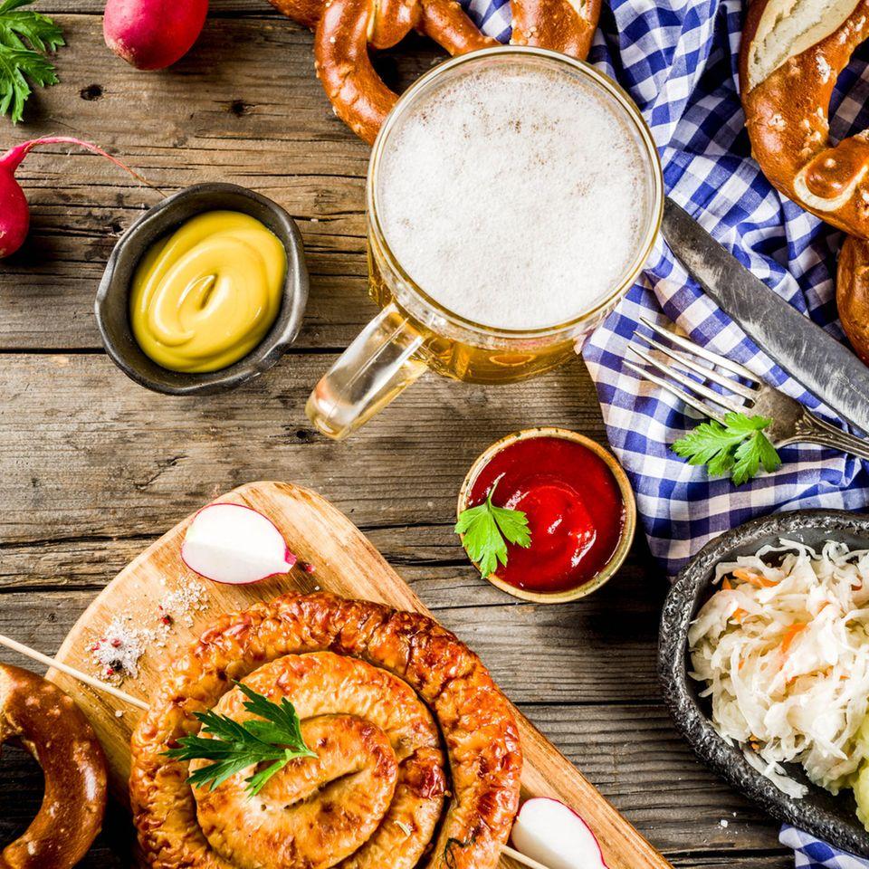 Kalorien-Check: Frühstück im Biergarten
