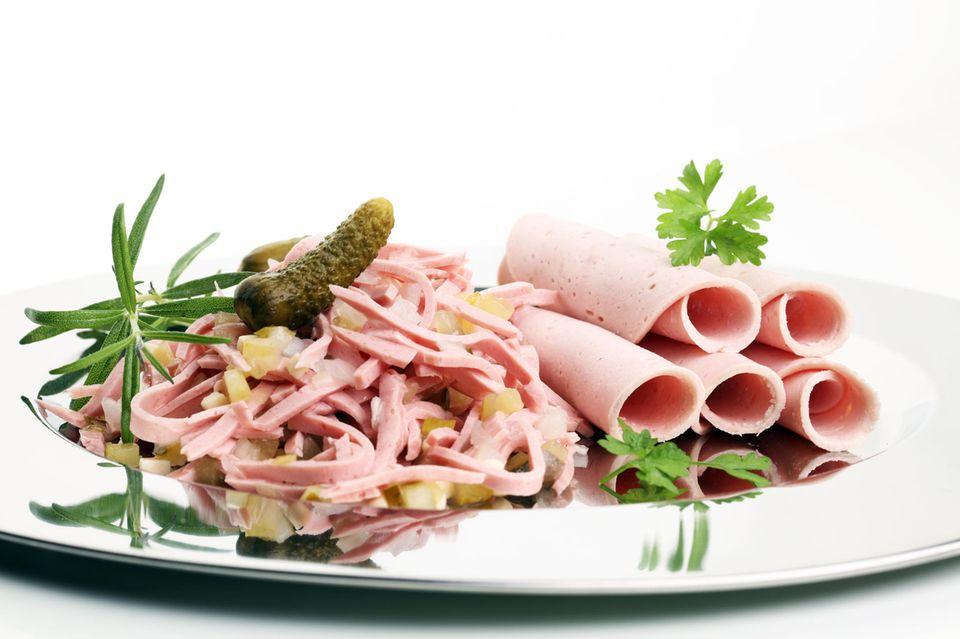 Kalorien-Check: Wurstsalat