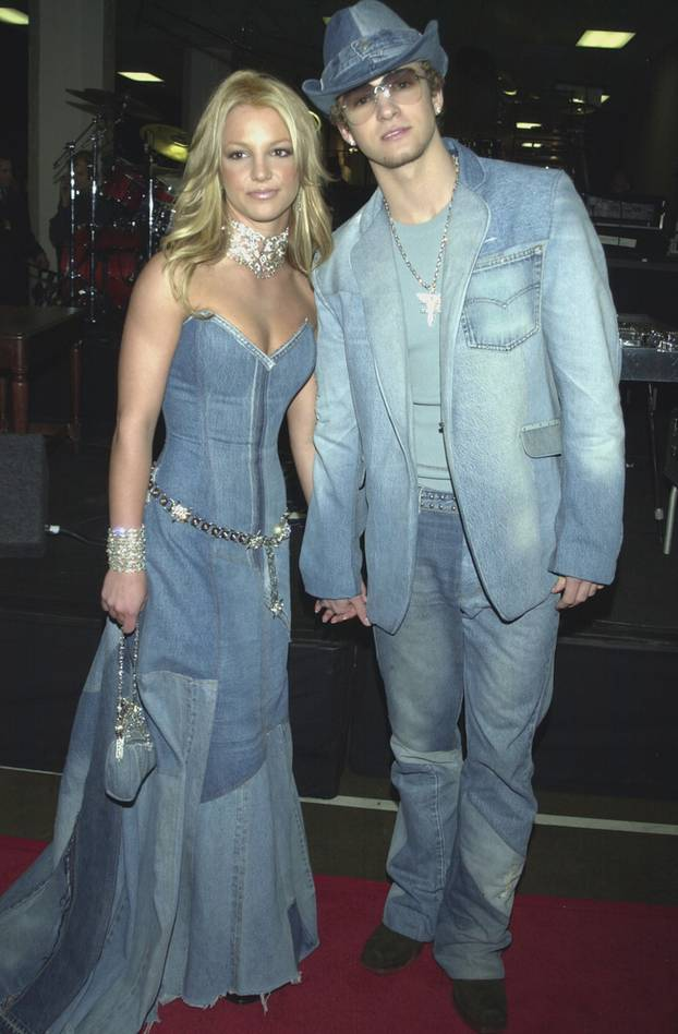 90er Mode: Britney Spears im Jeans-Look