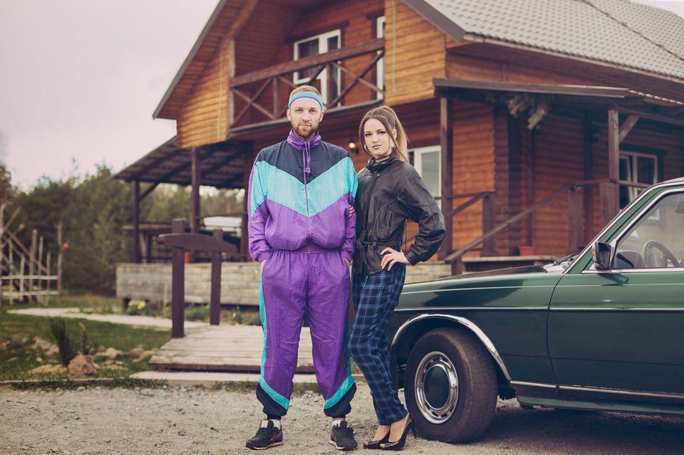 Latzhose damen 90er outfit Latzhosen und