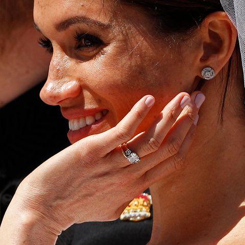 Meghan Markle: trägt Hochzeitsschmuck