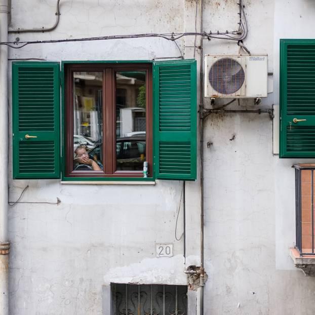 Coronavirus-News: Italienische Fenster
