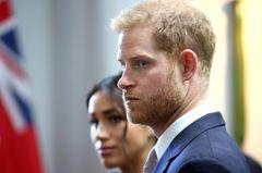 """Harry + Meghan in den USA: Königsfamilie ist """"schockiert"""""""