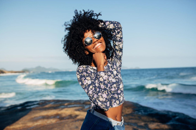70er Jahre Frisuren: Afro