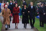 Herzogin Meghan + Prinz Harry: unterwegs mit Herzogin Kate und Prinz William