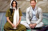 Herzogin Meghan + Prinz Harry: in einer Moschee