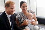 Herzogin Meghan + Prinz Harry: mit Baby Archie