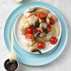 Bohnen-Tomaten-Salat
