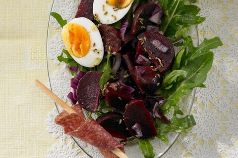 Rote-Bete-Rauke-Salat