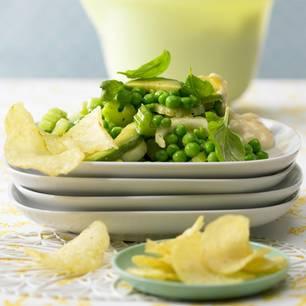 Avocado-Erbsen-Salat