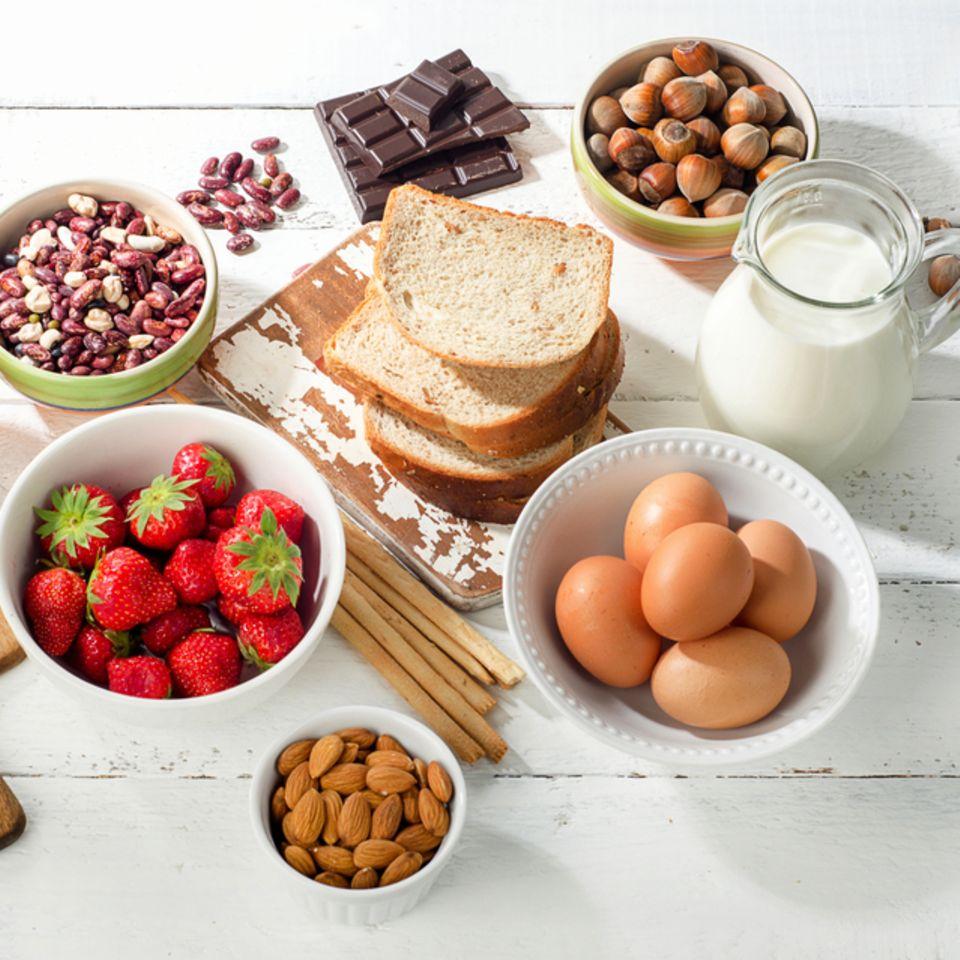 Allergene: Lebensmittel