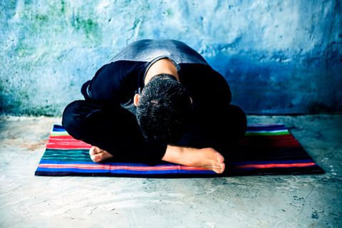 Jivamukti-Yoga: Mann macht Yoga
