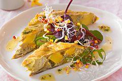 Vegetarische Rezepte für Ostern: Artischocken-Frittata