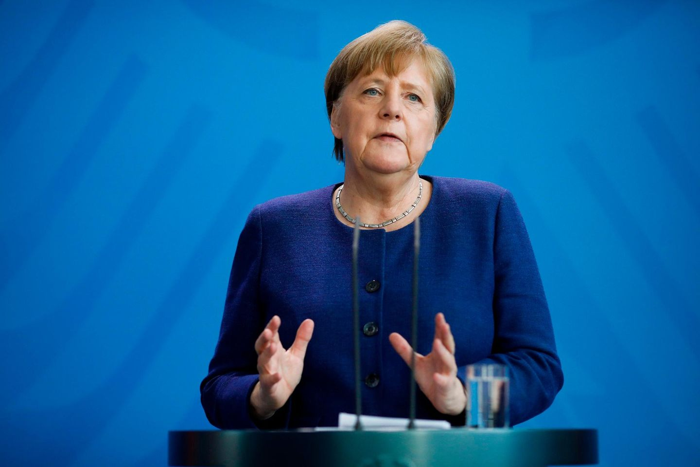 Corona aktuell: Angela Merkel bei Pressekonferenz