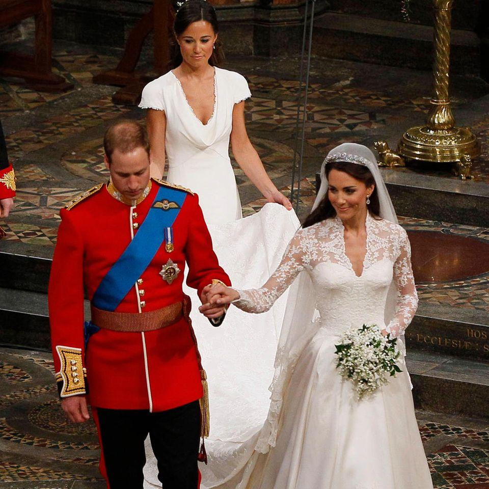 Prinz William + Pippa + Herzogin Kate