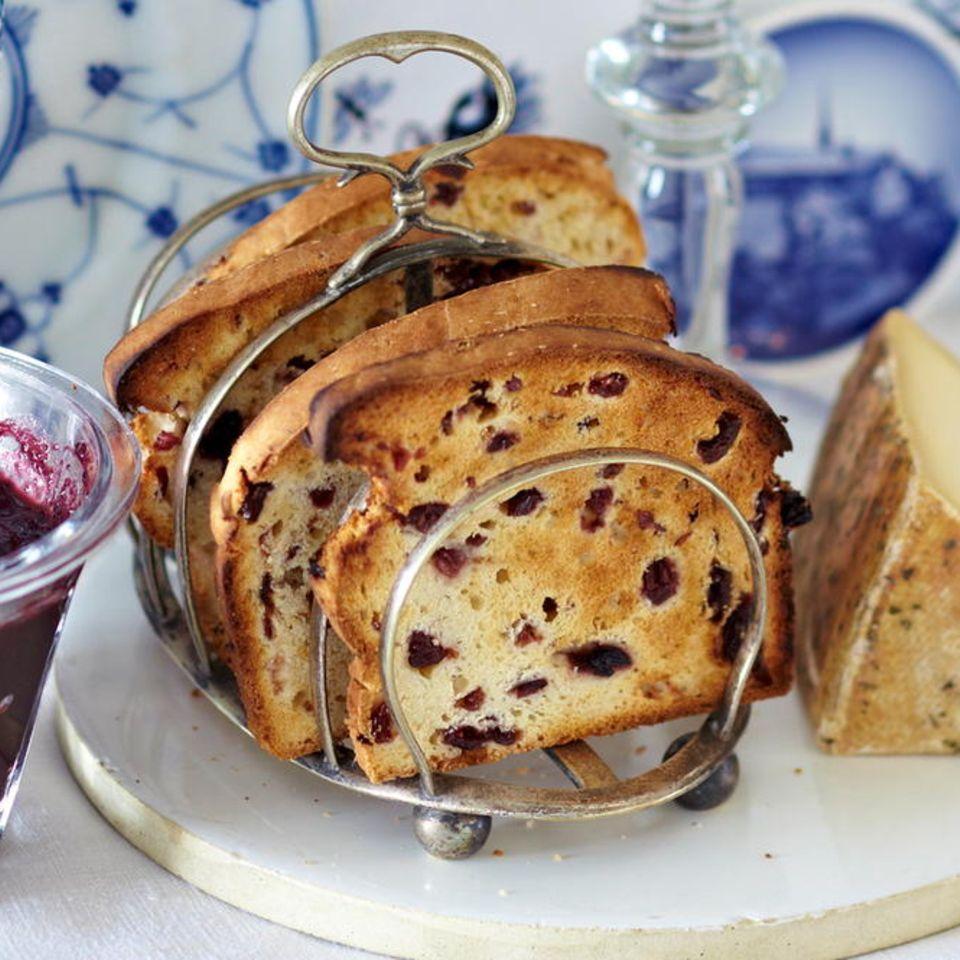 Blaubeer-Brot