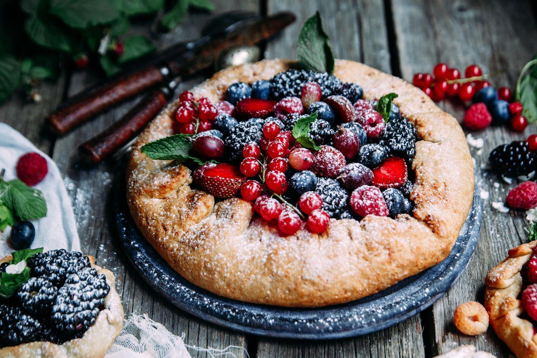 Zuckerbrot und Peitsche: Brot mit Obst und Zucker