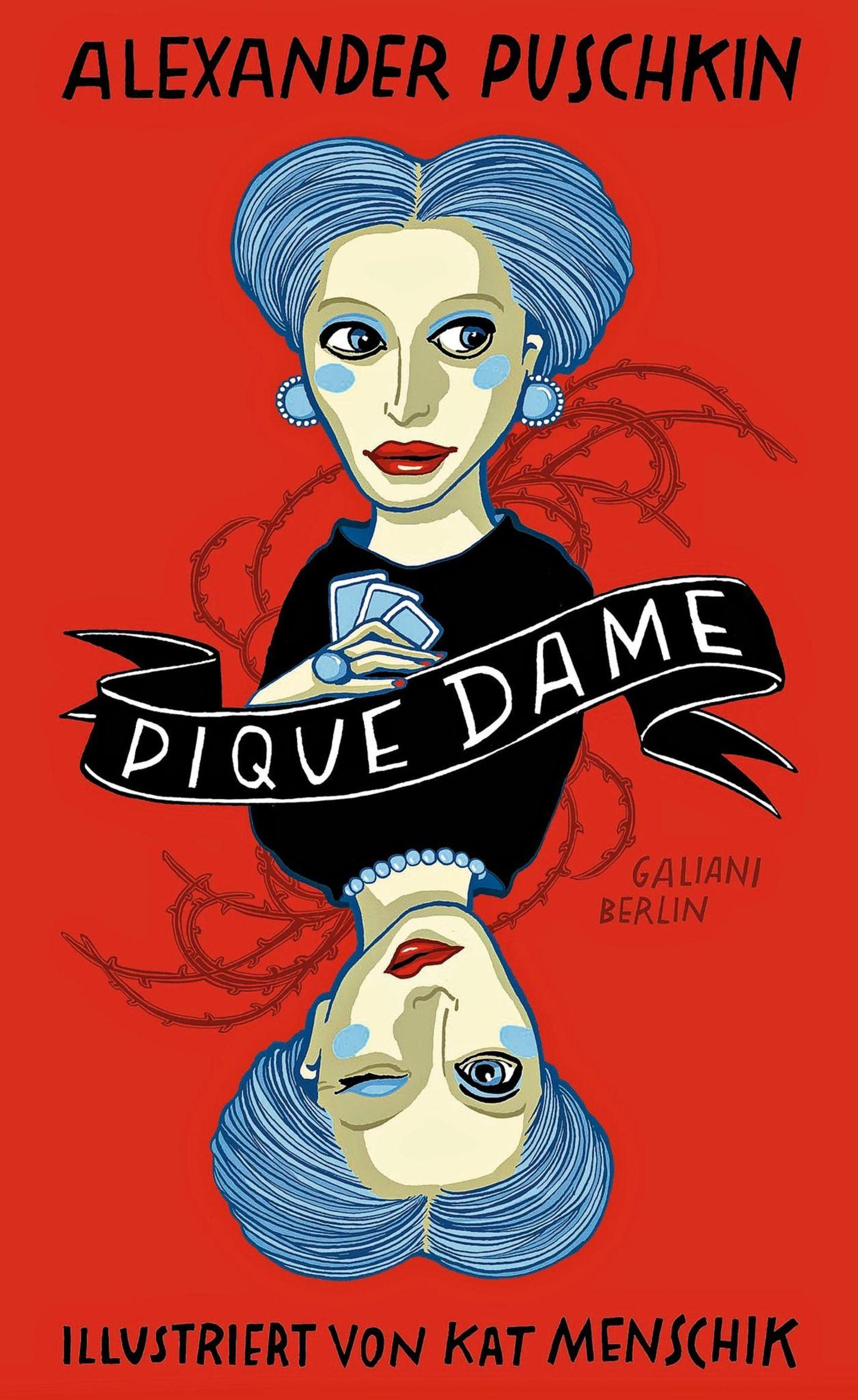 """Buchtipps der Redaktion 180: Buchcover """"Pique Dame"""""""